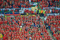 LYON, FRANCE - Wednesday, July 6, 2016: Wales supporters' band The Barry Horns during the UEFA Euro 2016 Championship Semi-Final match against Portugal at the Stade de Lyon. (Pic by Paul Greenwood/Propaganda)