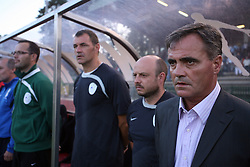 Head coach  of Slovenia Tomaz Kavcic during the Qualifications for UEFA U-21 EC 2009 soccer match between Slovenia and Finland at Velenje stadion At lake, on September 9,2008, in Velenje, Slovenia.  (Photo by Vid Ponikvar / Sportal Images)