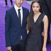 London,England,UK : 15 June 2016 : Jade Alleyne,Jayden Revri attend the Disney's Aladdin Opening Night at the Prince Edward Theatre on Old Compton Street, Soho, London. Photo by See Li