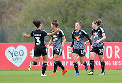 Brooke Chaplen of Reading Women scores goal making it 0-1- Mandatory by-line: Nizaam Jones/JMP- 31/03/2019 - FOOTBALL - Stoke Gifford Stadium - Bristol, England - Bristol City Women v Reading Women - FA Women's Super League 1