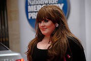 ©Retna Pictures / Mark Larner. Picture shows singer Adele  arriving at Mercury Music Awards, London, 9th September 2008.