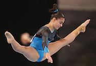 Floor, May 22, 2014 - GYMNASTICS : Australian National Gymnastics Championships, Hisense Arena, Melbourne, Victoria, Australia. Credit: Lucas Wroe / Winkipop Media
