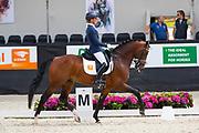 Adelinde Cornelissen - Henkie<br /> WK Selectie Jonge Dressuurpaarden 2017<br /> © DigiShots