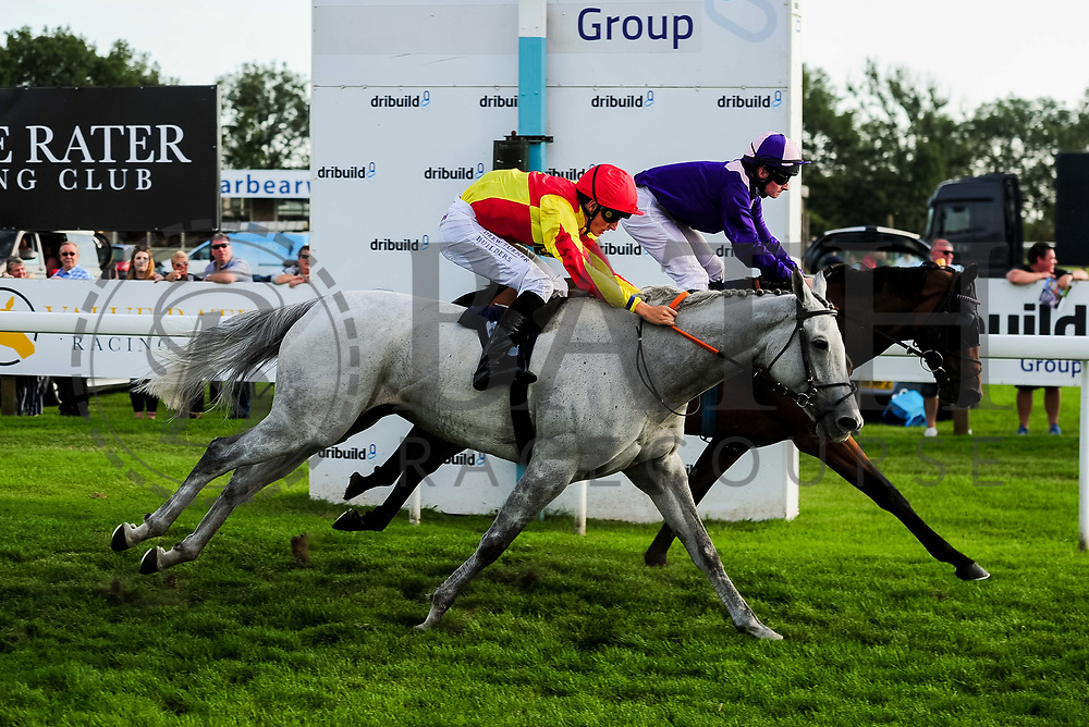Rosie Royale ridden by George Wood and trained by Roger Teal in the Visit Valuerater.Co.Uk Nursery Handicap race. Victoriano ridden by Adam McNamara and trained by Archie Watson in the Visit Valuerater.Co.Uk Nursery Handicap race.  - Ryan Hiscott/JMP - 15/09/2019 - PR - Bath Racecourse - Bath, England - Race Meeting at Bath Racecourse