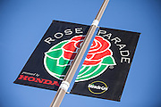 Rose Parade Flag Pasadena California