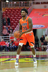 10 December 2016:  Javier Martinez during an NCAA  mens basketball game between the UT Martin Skyhawks and the Illinois State Redbirds in a non-conference game at Redbird Arena, Normal IL