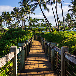 Wailea Beach Path in Mokapu Beach Park in Wailea Makena Maui Hawaii. Copyright ⓒ 2019 Paul Velgos with All Rights Reserved.