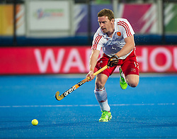 England's Michael Hoare.England v Germany - Semi-Final Unibet EuroHockey Championships, Lee Valley Hockey & Tennis Centre, London, UK on 27 August 2015. Photo: Simon Parker