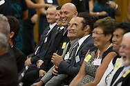 Finalists -  Rakaia Incorporation, Tewi Trust and  Ngāi Tahu Farming Limited were announced at the launch function -  Ahuwhenua Trophy BNZ Maori Excellence in Farming Award, 17 February 2016. Photo by John Cowpland / alphapix<br /> <br /> CONDITIONS of USE:<br /> <br /> FREE for editorial use in direct relation the Ahuwhenua Trophy competition. ie. not to be used for general stories about the finalist or farming.<br /> <br /> NO archiving of images. NO commercial use. <br /> Please contact John@alphapix.co.nz if you have any questions