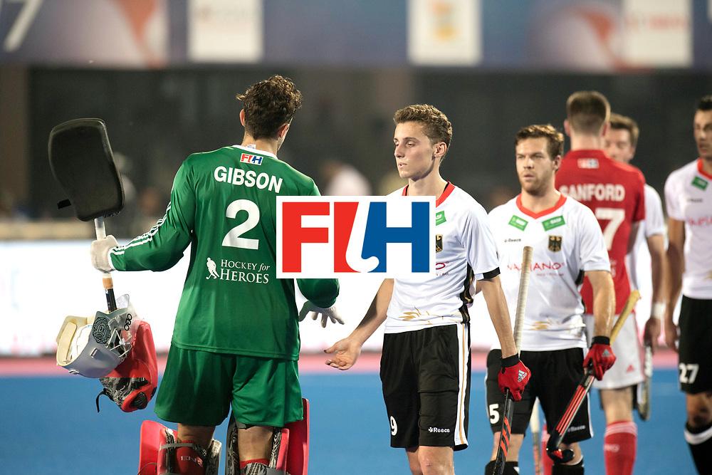 Odisha Men's Hockey World League Final Bhubaneswar 2017<br /> Match id:01<br /> Germany v England<br /> Foto:  GRO&szlig;E Johannes and HUBER Phillipp<br /> WORLDSPORTPICS COPYRIGHT FRANK UIJLENBROEK