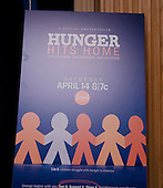 The Food Network host reception for Hunger Hits Home television documentary.