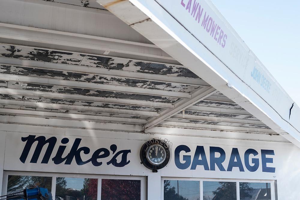 Mike's Garage repair shop in Joseph, Oregon.