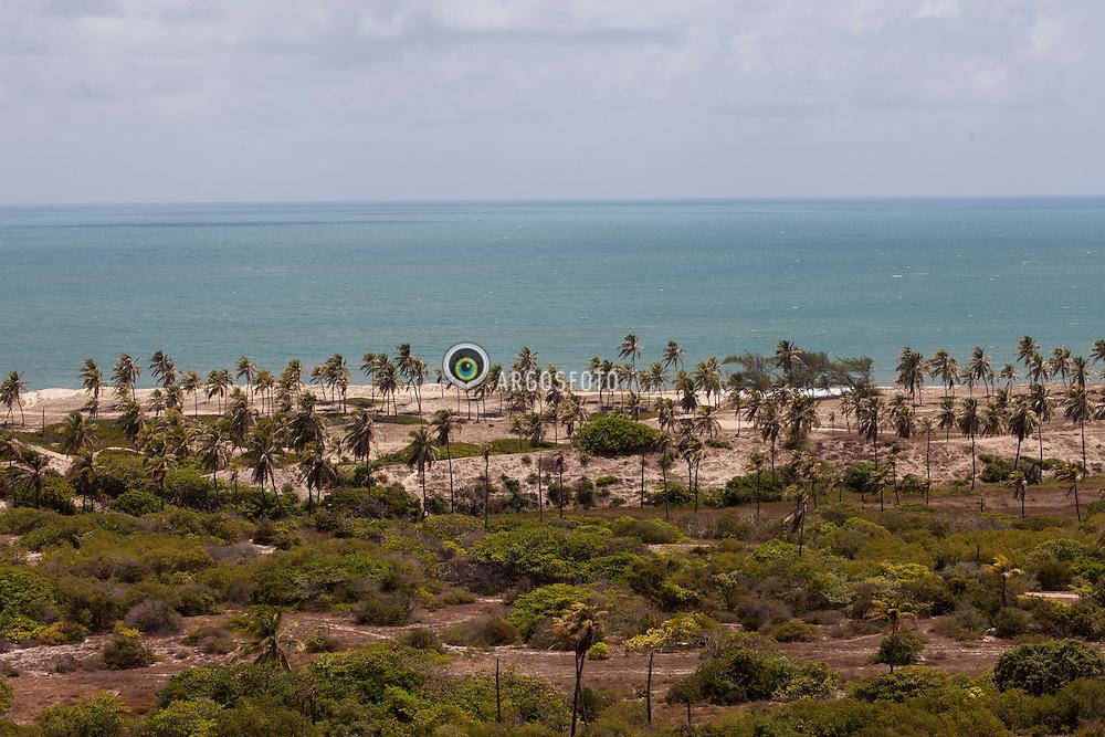 Vista da praia do Pitangui./ Pitangui beach view. Rio Grande do Norte, Brasil - 2013