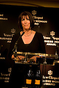 WINNER, CAROLYN MCCALL,, Veuve Cliquot Business Woman Award. Berkeley Hotel 8 April 2008.  *** Local Caption *** -DO NOT ARCHIVE-© Copyright Photograph by Dafydd Jones. 248 Clapham Rd. London SW9 0PZ. Tel 0207 820 0771. www.dafjones.com.