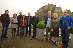 2016 Edinburgh International Film Festival, (left to right) David Sosson, Stephanie Gibson, Mark Percival (musician/writer), Emma Pollock (The Delgados) Paul Savage (The Delgados), Alex Kapranos (Franz Ferdinand), Niall McCann (writer/Director) Nicky Grogan (producer), Paul Walsh (producer), during the WORLD PREMIERE (DOCUMENTARY) LOST IN FRANCE, The Apex Hotel Grassmarket, Edinburgh16th June 2016, (c) Brian Anderson | Edinburgh Elite media<br /> <br /> Niall McCann (Director) <br /> Alex Kapranos (Musician)<br /> Emma Pollock (Musician)<br /> Paul Savage (Musician)<br /> Stewart Henderson (Musician)<br /> David Sosson (Musician)