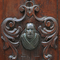 Doorknobs and knockers in Venice