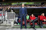The manager of Copenhagen Ståle Solbakken during the Champions League match between FC Copenhagen and Club Brugge at Parken Stadium, Copenhagen, Denmark on 27 September 2016. Photo by Andrew Halseid-Budd.