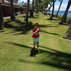 Max at Puamana, Lahaina, Maui, Hawaii, US