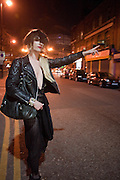 JONBEMET HAILING TAXI, Ponystep - issue 3 launch party, George and Dragon, 2-4 Hackney Road, London, E2.  April 5 2012.