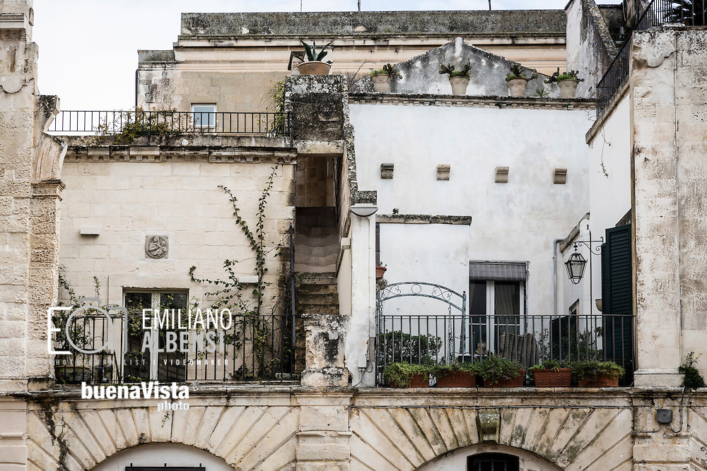 Emiliano Albensi<br /> 20/01/2017 Lecce (LE)<br /> Lecce<br /> Nella foto: uno scorcio del centro storico di Lecce<br /> <br /> Emiliano Albensi<br /> 20/01/2017 Lecce<br /> Lecce<br /> In the picture: a glimpse of the historical city centre of Lecce