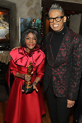 Cicely Tyson Private Lifetime OSCAR Party hosted by Designer b. Michaels and Recording Artist Valerie Simpson held at Ashford & Simpson's Sugar Bar. 08 Dec 2018 Pictured: Cicely Tyson and b. Michaels. Photo credit: MPI43/Capital Pictures / MEGA TheMegaAgency.com +1 888 505 6342