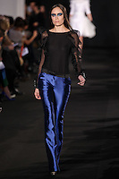 McCallan Stringer walks down runway for F2012 Prabal Gurung's collection in Mercedes Benz fashion week in New York on Feb 10, 2012 NYC