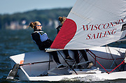 During the Fall Fury Regatta on Lake Mendota in Madison, Wisconsin, Sunday, Sept. 9, 2018.
