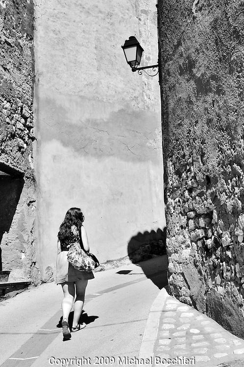 Roussillon, Provence-Cote d'Azur - September 06:  General view on September 06, 2009 in Roussillon, France. Roussillon ('most beautiful villages of Provence') is about 15 kilometres north-west of Apt. (Photo by Michael Bocchieri/Bocchieri Archive)