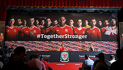 DINARD, FRANCE - Monday, July 4, 2016: Wales' Gareth Bale during a press conference at their base in Dinard as they prepare for the Semi-Final match against Portugal during the UEFA Euro 2016 Championship. (Pic by David Rawcliffe/Propaganda)