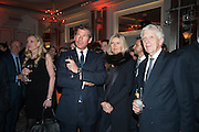 HUGH MORRISON; AMANDA WAKELEY; LORD POWELL, The Veuve Clicquot Business Woman Of The Year Award, celebrating women's excellence in business and commitment to sustainability. Claridge's, Brook Street, London, 22 April 2013