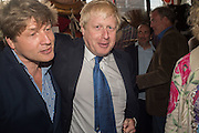 LEO JOHNSON; BORIS JOHNSON, Rachel Johnson book launch of Fresh Hell, Acklam Village Market, Acklam Rd. London W10.