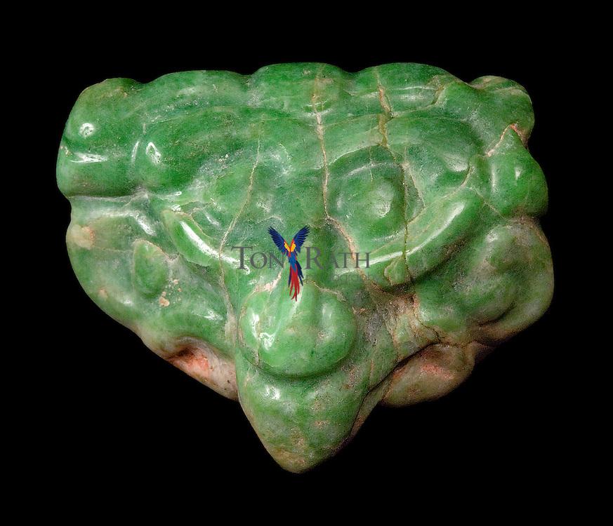 Jade pendant from Altun Ha, Belize