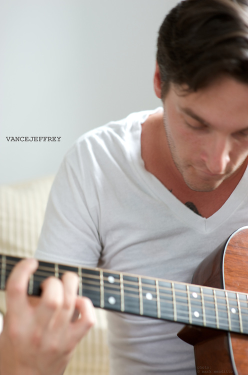Artist Vance Kupiec of independent music group VanceJeffrey.