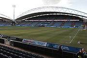 The Ground is ready for the The FA Cup match between Huddersfield Town and Manchester United at the John Smiths Stadium, Huddersfield, England on 17 February 2018. Picture by George Franks.