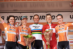 Boels Dolmans wins the team classification at Boels Ladies Tour 2018 - Stage 6, an 18.6km individual time trial in Roosendaal, Netherlands on September 2, 2018. Photo by Sean Robinson/velofocus.com