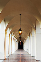 Hallway at Pasadena City Hall, California