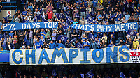 Football - 2014 / 2015 Premier League - Chelsea vs. Sunderland.   <br /> <br /> Graffiti banner displayed ahead of the game at Stamford Bridge. <br /> <br /> COLORSPORT/DANIEL BEARHAM