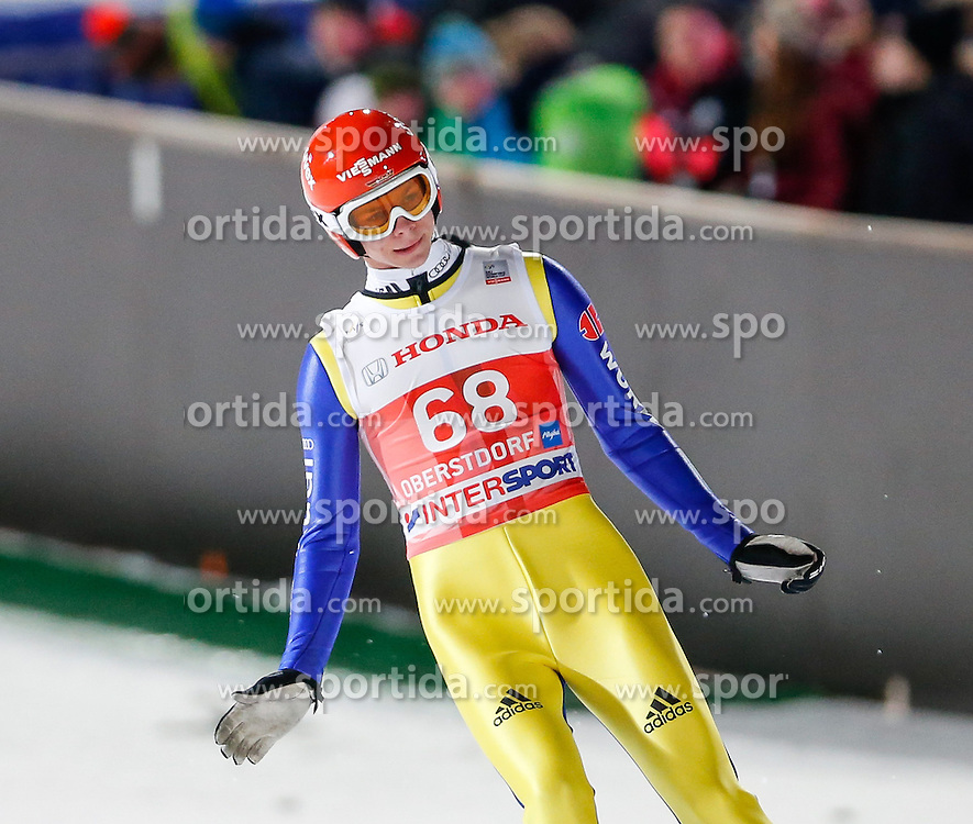 28.12.2013, Schattenbergschanze, Oberstdorf, GER, FIS Ski Sprung Weltcup, 62. Vierschanzentournee, Qualifikation, im Bild Andreas Wellinger (GER) // Andreas Wellinger of Germany during Qualification of 62th Four Hills Tournament of FIS Ski Jumping World Cup at Schattenbergschanze, Oberstdorf, Germany on 2013/12/28. EXPA Pictures © 2013, PhotoCredit: EXPA/ Peter Rinderer