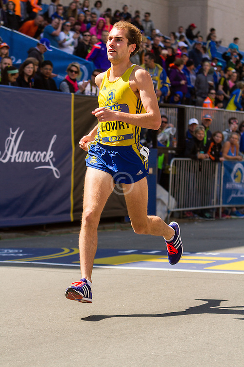 Boston Marathon: BAA 5K road race, Invitational Mens Mile, Dan Lowry