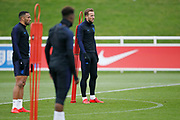 Harry Kane (Tottenham Hotspur)  during the England training session ahead of the UEFA Euro Qualifier against the Czech Repulbic, at St George's Park National Football Centre, Burton-Upon-Trent, United Kingdom on 19 March 2019.