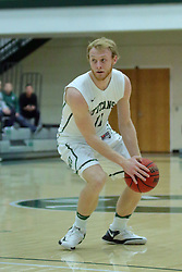 21 February 2017:   Colin Bonnett during an College men's division 3 CCIW basketball game between the Augustana Vikings and the Illinois Wesleyan Titans in Shirk Center, Bloomington IL
