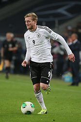 11.10.2013, RheinEnergie Stadion, Koeln, GER, FIFA WM Qualifikation, Deutschland vs Irland, Gruppe C, im Bild Andre Schuerrle (Deutschland) // during the FIFA World Cup Qualifier Group C Match between Germany and Ireland at the RheinEnergie Stadium, Cologne, Germany on 2013/10/11. EXPA Pictures � 2013, PhotoCredit: EXPA/ Eibner/ Eckhard Eibner<br /> <br /> ***** ATTENTION - OUT OF GER *****