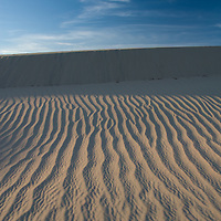 Ripples in the Sand., Mesquite Dunes, Death Valley National Park.