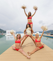 29-07-2014 AUT: FIVB Grandslam Volleybal, Klagenfurt<br /> Dance beachvolleybal girls<br /> ***NETHERLANDS ONLY***