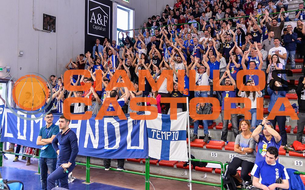 Commando Ultra' Dinamo<br /> Banco di Sardegna Dinamo Sassari - Germani Basket Leonessa Brescia<br /> Legabasket Serie A LBA PosteMobile 2017/2018<br /> Sassari, 08/04/2018<br /> Foto L.Canu / Ciamillo-Castoria