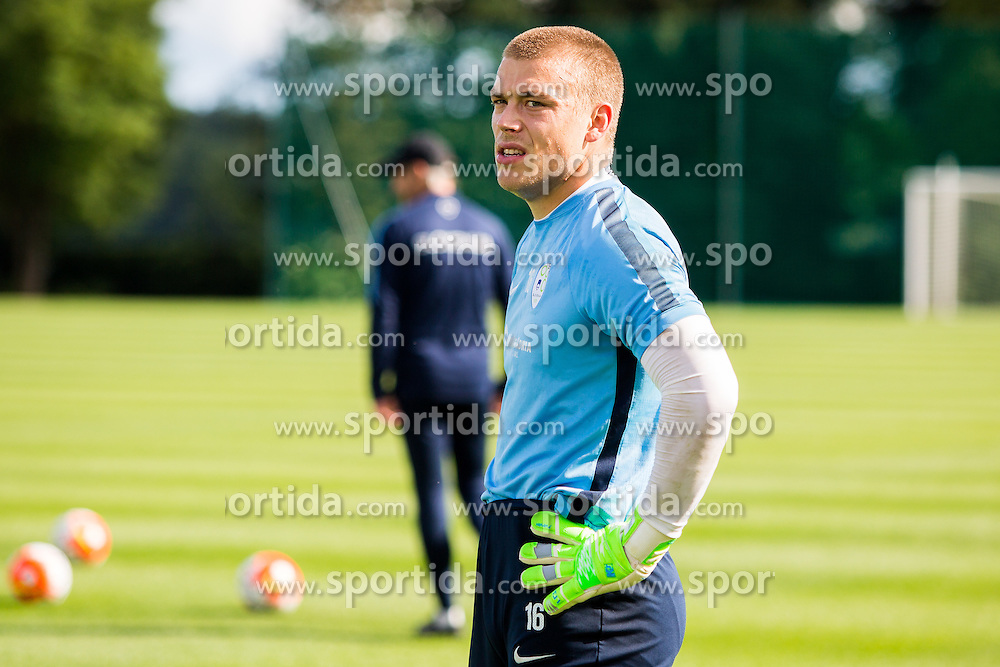 Nejc Vidmar during practice session of Slovenian Football Team before friendly match against Turkey, on June 2, 2016 in Football centre Brdo pri Kranju, Slovenia. Photo by Ziga Zupan / Sportida