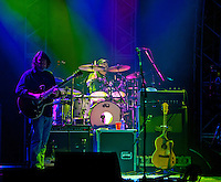 Todd Nance of Widespread Panic performs at the Wiltern Theatre on July 12, 2011 in Los Angeles, CA.