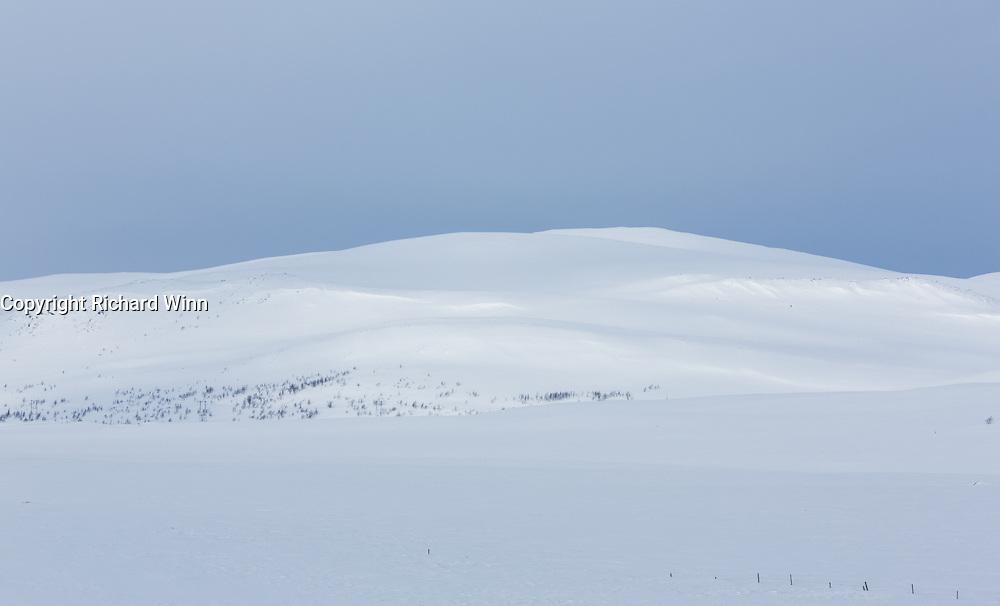 Arctic wilderness between Skaidi and Alta, in FInnmark, Northern Norway.