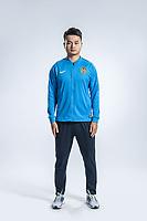 **EXCLUSIVE**Portrait of Chinese soccer player Jiang Jinhu of Jiangsu Suning F.C. for the 2018 Chinese Football Association Super League, in Nanjing city, east China's Jiangsu province, 23 February 2018.