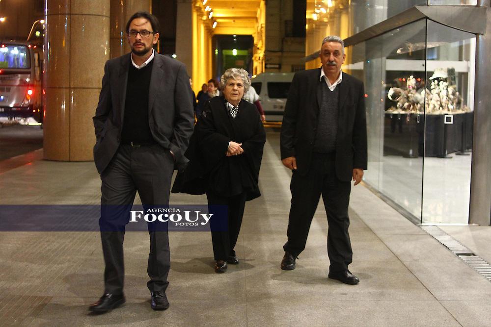 Montevideo, Uruguay, 24 de Agosto 2016. Maria Auxiliadora Delgado, Primera Dama. Esposa del Pte. Tabar&eacute; Vazquez. <br /> Foto, Gaston Britos / Focouy